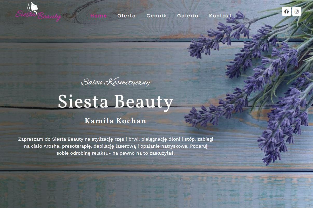 Salon Kosmetyczny Siesta Beauty