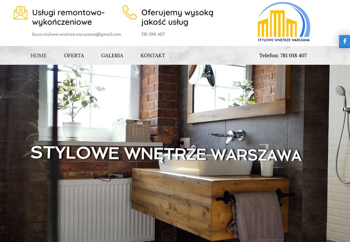 Stylowe Wnętrze Warszawa